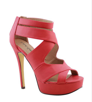 Red Sandals - Michael Antonio tomoko Sandal - The Best Red Dress