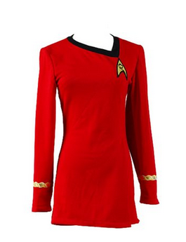 Star Trek Uhura Dress Costume and Accessories The Best Red Dress